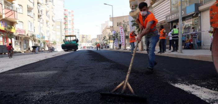 Mardin'de yol yapım, bakım ve onarım çalışmaları