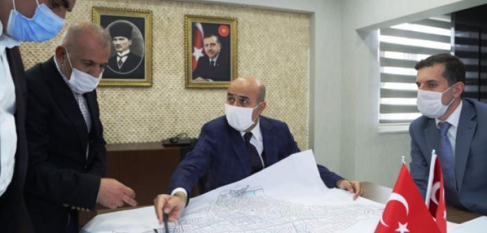Nusaybin'in İçmesuyu ve Altyapısı Masaya Yatırıldı