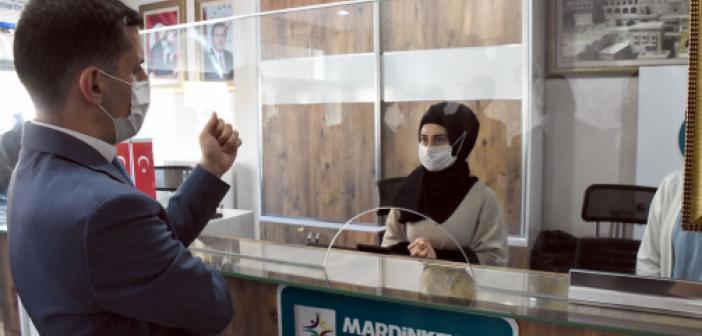 Temizkan'dan Büyükşehir'in ilçe Koordinasyon Merkezine Ziyaret