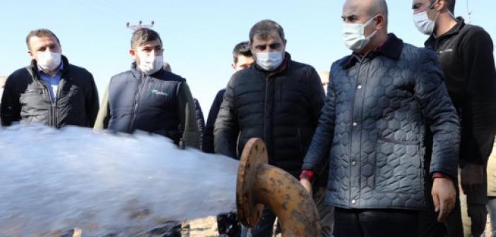Vali Demirtaş, Hafta Sonu da Mesaisini Sürdürüyor