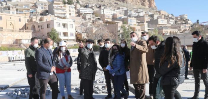 Vali Demirtaş, Tarihi Mardin'de İncelemelerde Bulundu