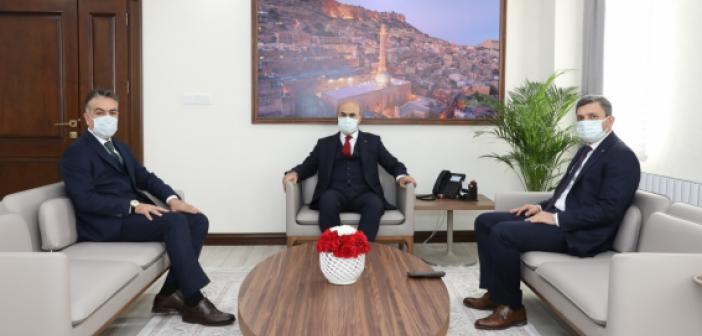 Batman ve Bitlis Valilerinden Vali Demirtaş'a Ziyaret
