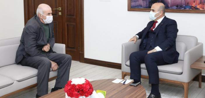 Çevre Dostu Erginoğlu'ndan Vali Demirtaş'a Ziyaret