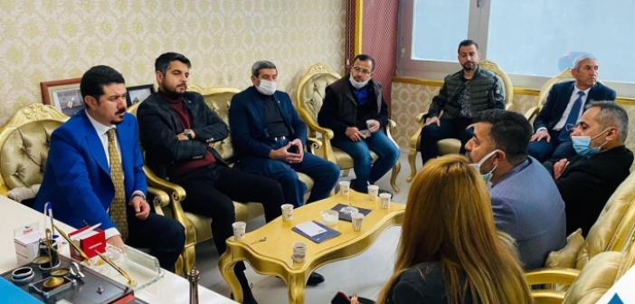DEVA Partisinden Gazetecilere Ziyaret