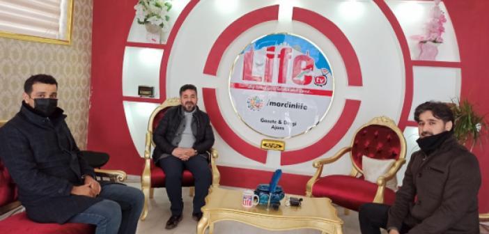 Edessa TV'den Gazetemize nezaket ziyareti
