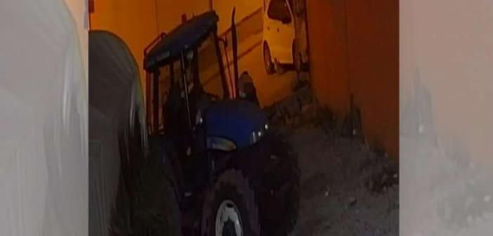 Mardin'de 250 bin TL değerindeki traktör çalındı