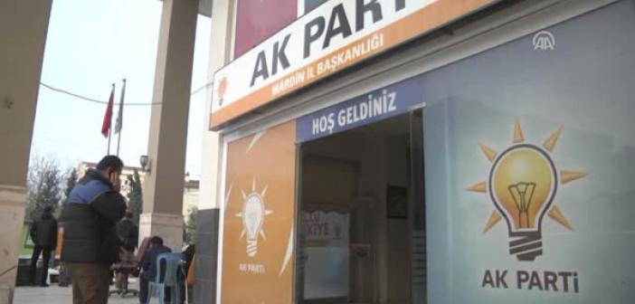 Mardin'de AK Parti'nin adresi nerede?