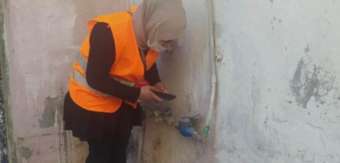 MARSU'da kadın sayaç okuma personelleri işini severek yapıyor