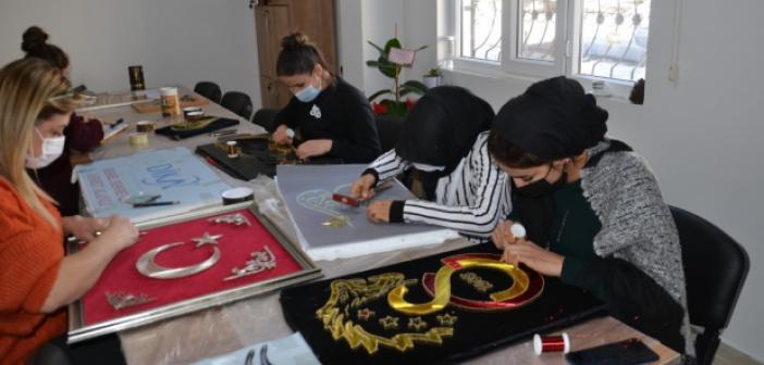 Midyat Belediyesi'nde kadınlara yönelik çalışma