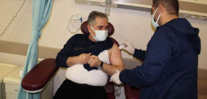 Nusaybin'de ilk aşılar vuruldu