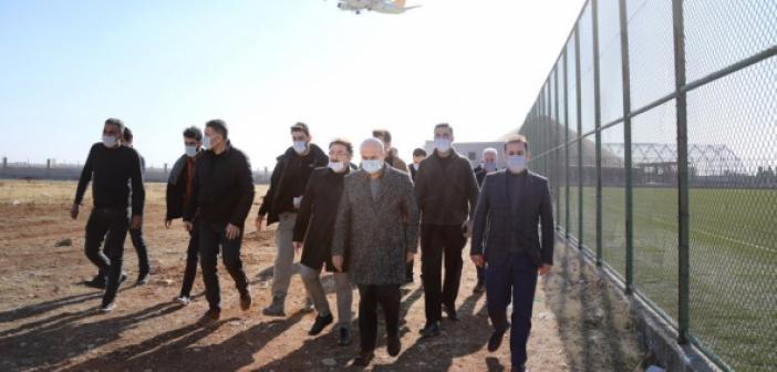 Vali Demirtaş Kızıltepe'de İncelemelerde Bulundu