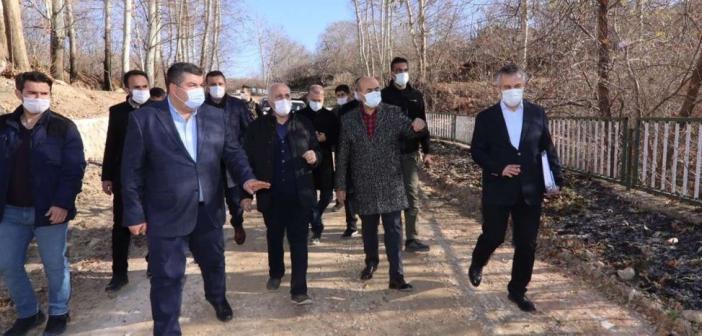 Vali Demirtaş'ın ilçe ziyaretleri sürüyor