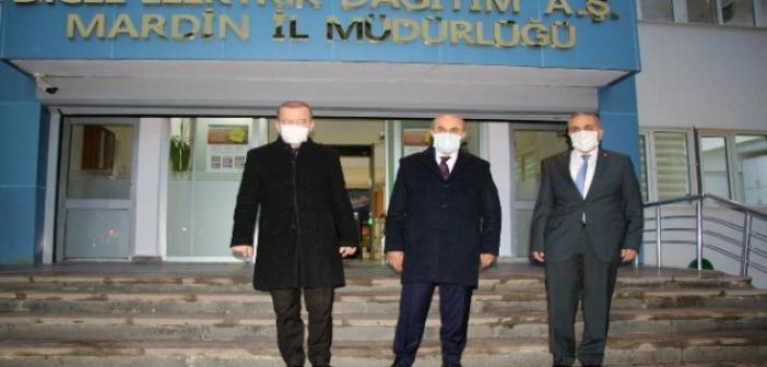 Vali Demirtaş'tan Dicle Elektrik'e ziyaret
