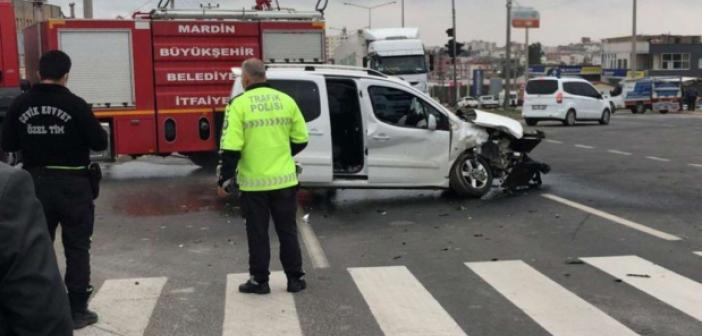 İpekyolu'nda trafik kazası
