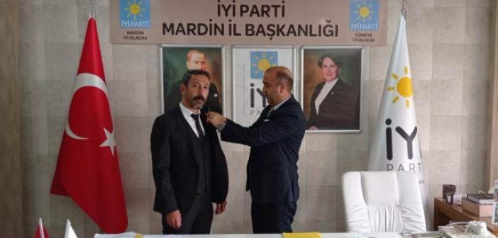 İYİ Parti Nusaybin İlçe Başkanlığına Atama