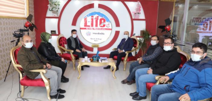 Vali Demirtaş, Mardin'de yapılan çalışmaları gazetecilere anlattı