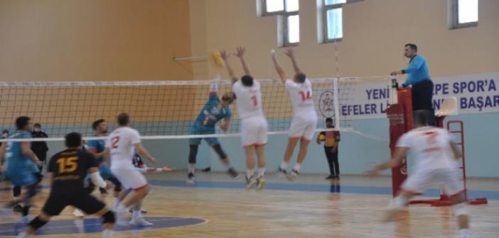Yeni Kızıltepe Spor: 3 - Hatay Büyükşehir Belediyespor: 0