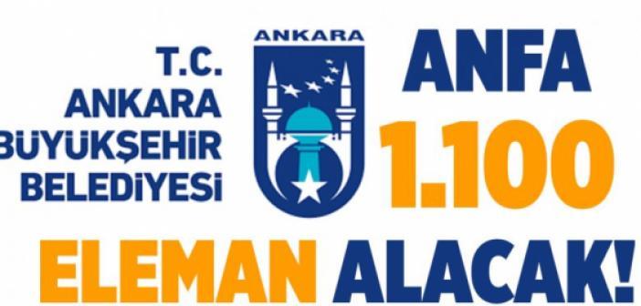 BAŞVURU FORMU! Ankara Büyükşehir Belediyesi personel, memur, işçi alımı! 2021 Temmuz ANFA'ya Başvuru yap!