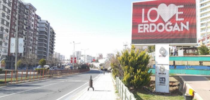 Artuklu'dan Erdoğan'a anlamlı destek