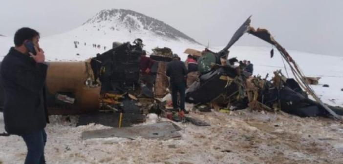 Helikopter Kazası Nerede Oldu? 11 Askerimizin Şehit Olduğu Helikopter Kazası Nerede Oldu?