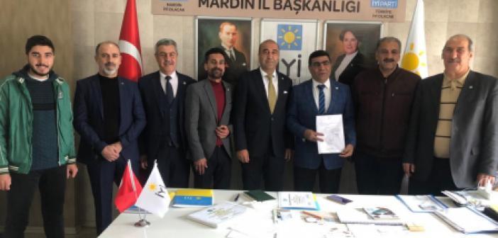 İyi Parti Kızıltepe ilçe başkanlığına yeni atama