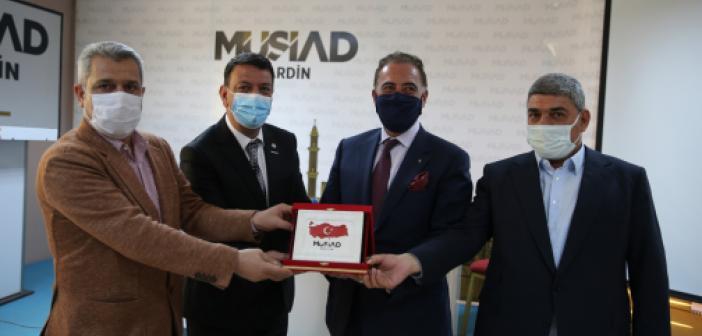 Büyükelçisi Adcabi'den Mardinli işadamlarına Yatırım Daveti