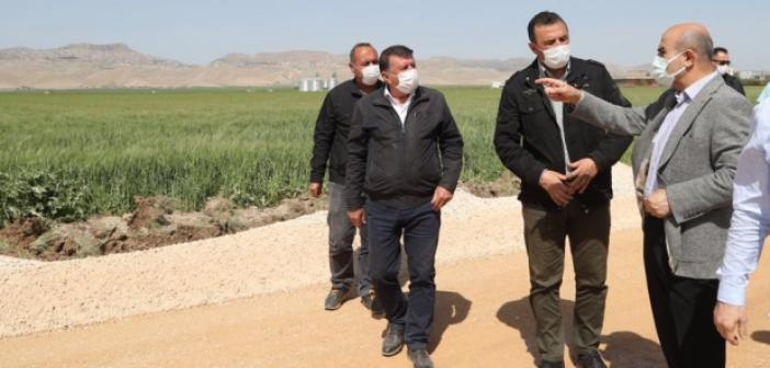 Göllü-Gökçe-Ortaköy Grup Yolu Asfaltlama Çalışması Başladı