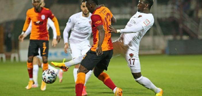 Hatayspor - Galatasaray maç sonucu ne oldu? Hatayspor - Galatasaray maçı kaç kaç bitti? Hatayspor - Galatasaray maç sonucunda puan durumunda son durum?
