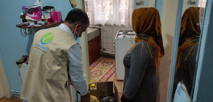 Help Yetim'den İstanbul'daki Mağdur Ailelere Yardım