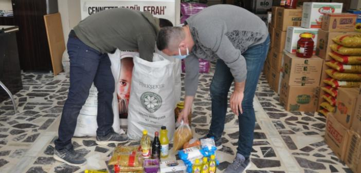 Kızıltepe'de 1000 aileye gıda kolisi dağıtılacak