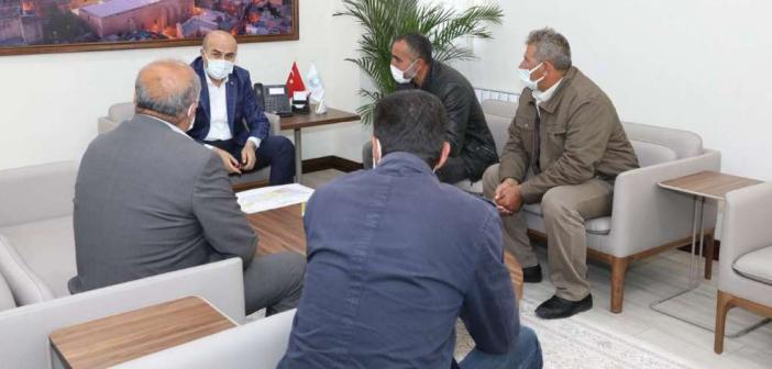 Mardin Valisi Demirtaş muhtarların taleplerini dinledi