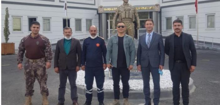Artuklu MHP'den Emniyet Mensuplarına ziyaret