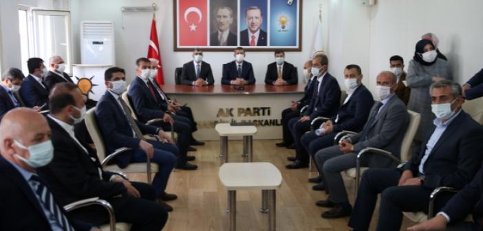 Milli Eğitim Bakanı Ziya Selçuk, Mardin'de ziyaretlerde bulundu