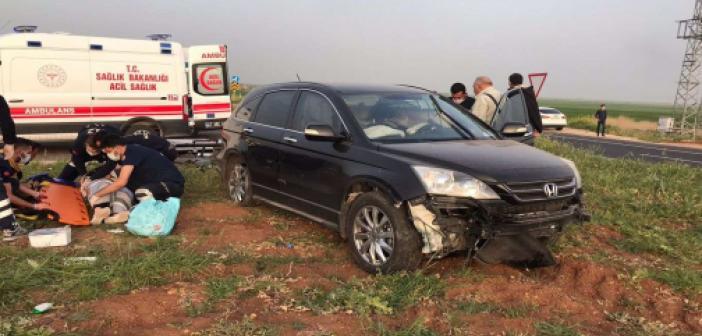 Nusaybin'de iki ayrı trafik kazasında bir kişi yaralandı