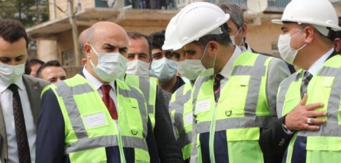Ömerli'de tarihin en büyük altyapı yatırımı