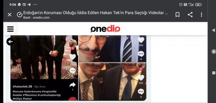 Erdoğan'ın koruması olduğu iddia edilen Hakan Tek Kimdir? Aslen nerelidir? Gözaltına alındı mı? Nerede görev yapıyor?