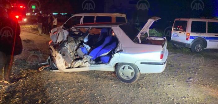 Şanlıurfa'da feci kaza! 2 otomobil çarpıştı! Çok sayıda yaralı var