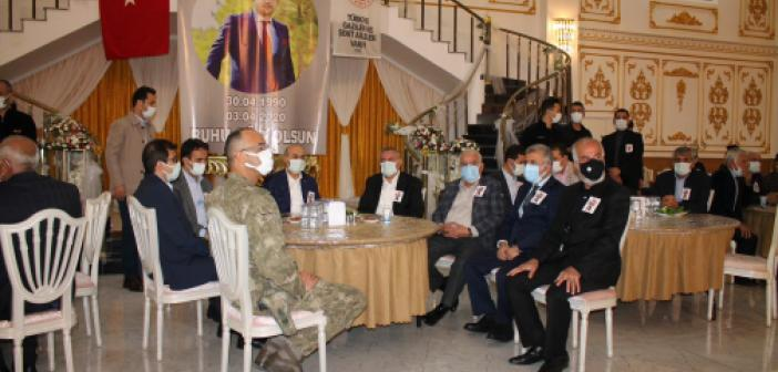 Şehit Gözenoğlu için mevlid programı