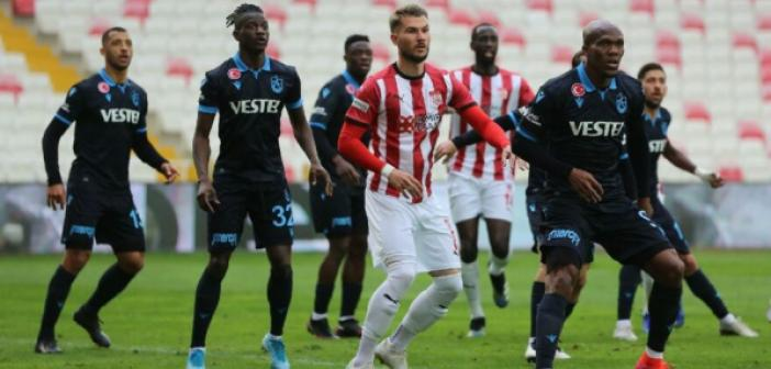 Sivasspor - Trabzonspor maçı kaç kaç bitti? Sivasspor ve Trabzonspor 1 puana razı oldu!