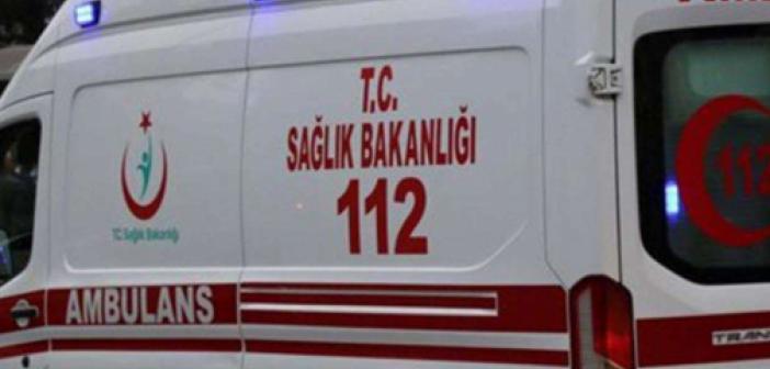 Siverek'te feci kaza! Motosiklet ile kamyon çarpıştı! Çok sayıda yaralı var!