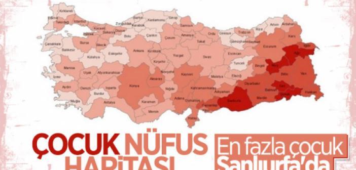 Türkiye'de Çocuk Nüfusu En Yüksek ve En Düşük İller
