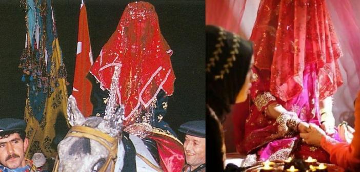 Yöreden yöreye değişiklik gösteren DÜĞÜN evlenme gelenek ve görenekleri