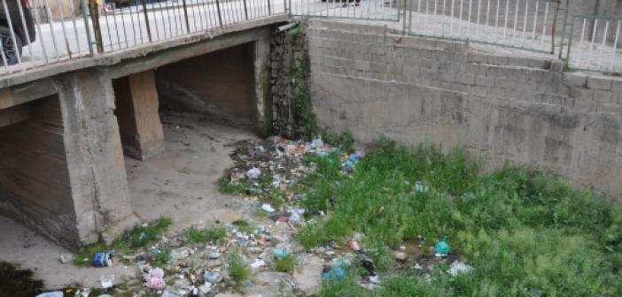 Zergan Deresinin temizlenmemesi vatandaşların tepkisine neden oldu