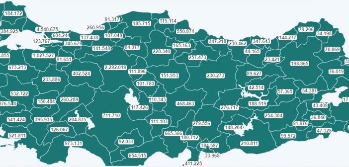 21 MAYIS AŞI HARİTASI AÇIKLANDI! Türkiye aşı tablosu yayınlandı!