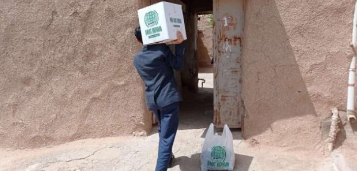 Mardin merkez ve ilçelerde Ramazan yardımları sürüyor