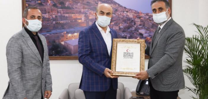 Rektör Özcoşar'dan Vali Demirtaş'a Teşekkür Ziyareti