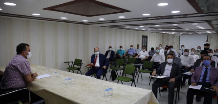 Altyapı Koordinasyon Toplantısı Yapıldı