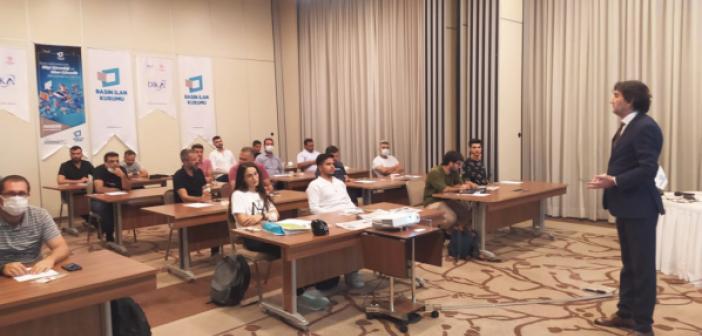Basın İşletmelerine 'Bilgi Güvenliği' Eğitimi Mardin'de Başladı