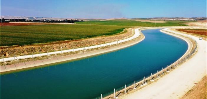 Fırat'ın suyu Mardin'in bereketli topraklarıyla buluşacak