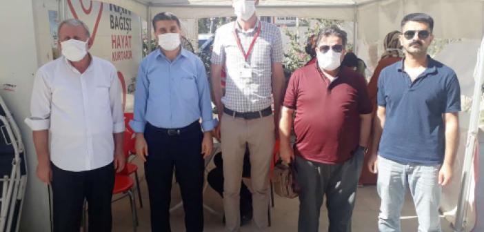 HÜDA PAR Kızıltepe İlçe Teşkilatı kan bağışında bulundu